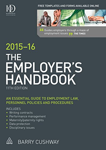 9780749474133: The Employer's Handbook 2015-16