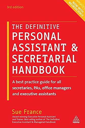 9780749474768: The Definitive Personal Assistant & Secretarial Handbook