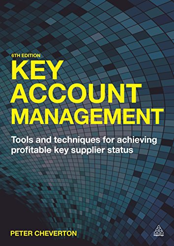 9780749479053: Key Account Management: Tools and Techniques for Achieving Profitable Key Supplier Status