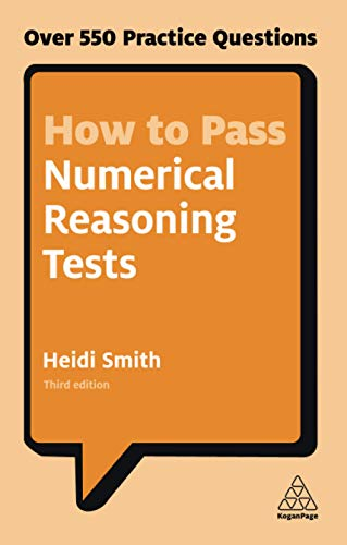 9780749480196: How to Pass Numerical Reasoning Tests: Over 550 Practice Questions (Kogan Page Testing)