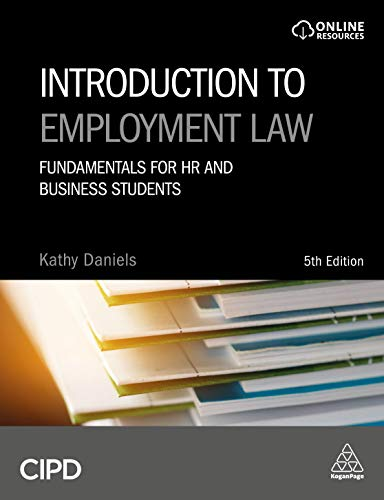 9780749484149: Introduction to Employment Law: Fundamentals for HR and Business Students