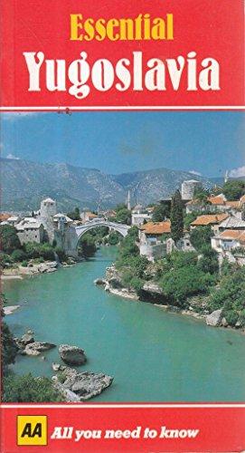 Essential Yugoslavia (AA Essential) (0749500980) by Automobile Association