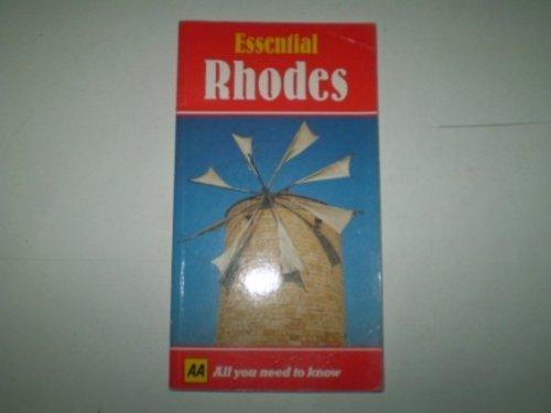 Essential Rhodes (AA Essential): Crawshaw, Gerry