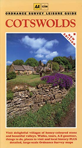 9780749503727: AA/Ordnance Survey Leisure Guide: Cotswolds (Ordnance Survey/AA Leisure Guides)