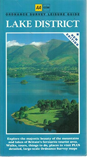 9780749503734: Lake District (Ordnance Survey/AA Leisure Guides)