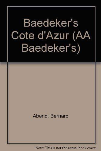 9780749505608: Baedeker's Cote d'Azur