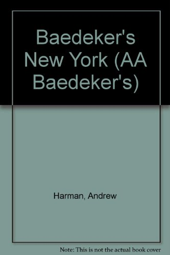 9780749512545: Baedeker's New York (AA Baedeker's)