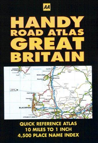 Handy Road Atlas - Great Britain
