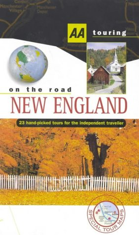 9780749514877: New England (AA Touring: On the Road)