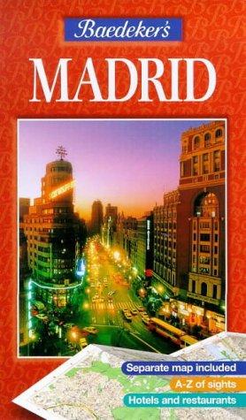 9780749521844: Baedeker's Madrid (Baedeker: Foreign Cities)