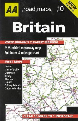 9780749522568: Britain (AA Road Maps)