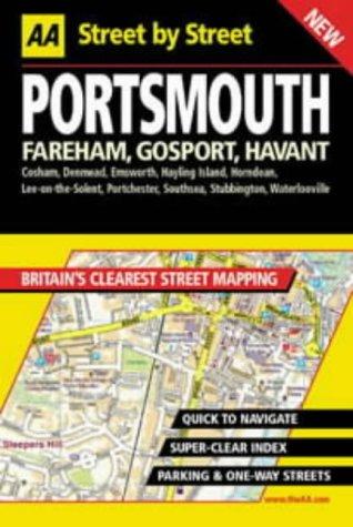 AA Street by Street: Portsmouth, Fareham, Gosport, Havant: AA Publishing