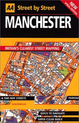 9780749526993: AA Street by Street: Manchester, Bolton, Bury, Oldham, Rochdale, Salford, Stockp
