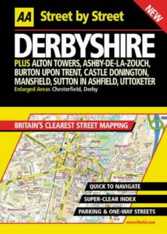 9780749527891: AA Street by Street Derbyshire
