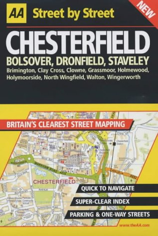 9780749531720: AA Street by Street Chesterfield