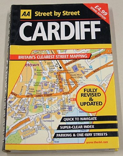 AA Street by Street: Cardiff: AA Publishing