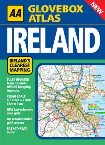 AA Glovebox Atlas: Ireland: AA Publishing