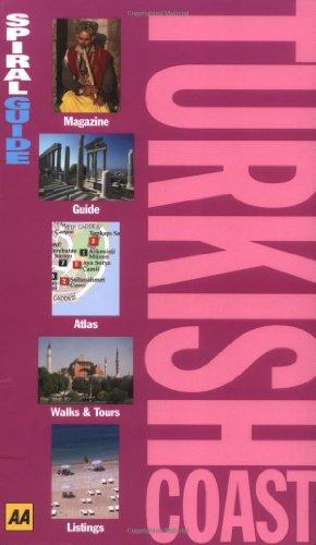 9780749535612: Turkish Coast (AA Spiral Guides)