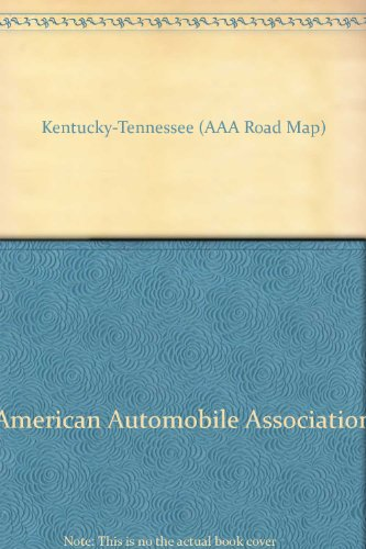 9780749536497: Kentucky-Tennessee (AAA Road Map)