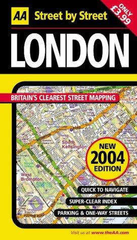 9780749537999: AA Street by Street London: Mini Edition