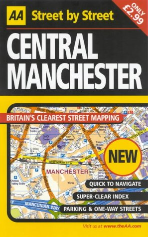 9780749538972: AA Street by Street: Central Manchester