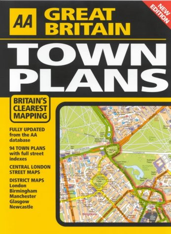 9780749539061: AA Great Britain Town Plans