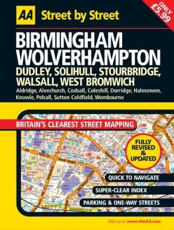 9780749539405: AA Street by Street Birmingham, Wolverhampton