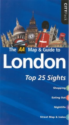 9780749540142: AA CityPack London (AA CityPack Guides)