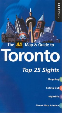 9780749540203: AA CityPack Toronto (AA CityPack Guides)