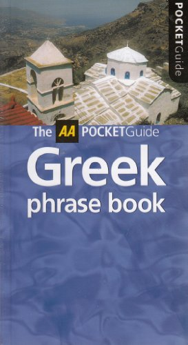 9780749541309: Greek Phrase Book (AA Pocket Guides)