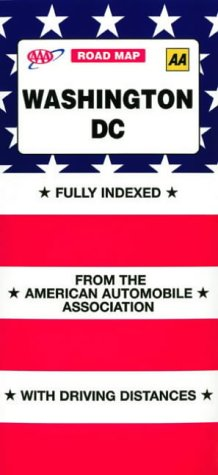9780749541408: AAA Washington DC Downtown and Vicinity (AAA Road Map)
