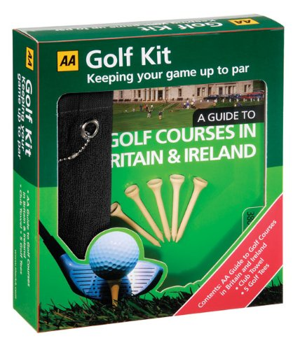 9780749541774: Aa Golf Kit: Aa Golf Guide, Shot Counter, Pitch Repairer, Gift Towel