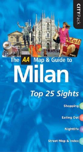 9780749542849: AA CityPack Milan (AA CityPack Guides)