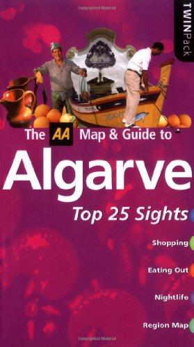 9780749543334: AA TwinPack Algarve (AA TwinPack Guides)