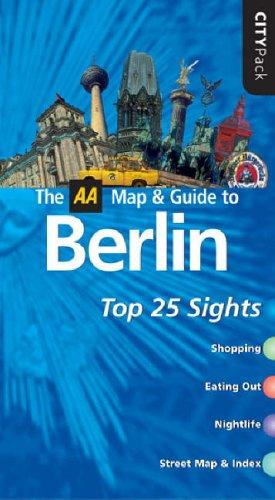 9780749543525: AA CityPack Berlin (AA CityPack Guides)
