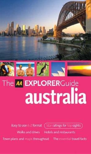 9780749543723: AA Explorer Australia (AA Explorer Guides S.)