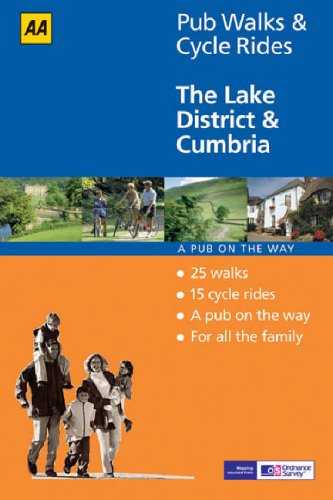 9780749544522: The Lake District and Cumbria (AA 40 Pub Walks & Cycle Rides S.)