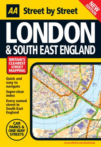 9780749544881: AA Street by Street London and the South East