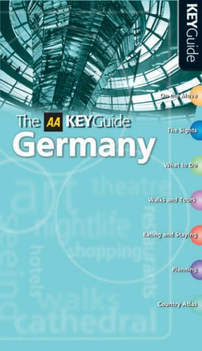 9780749545109: AA Key Guide Germany (AA Key Guides Series)