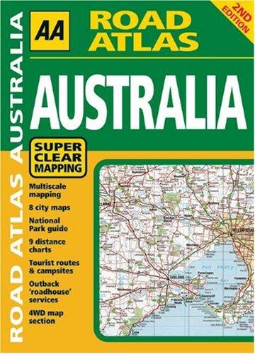 9780749545956: AA Road Atlas: Australia