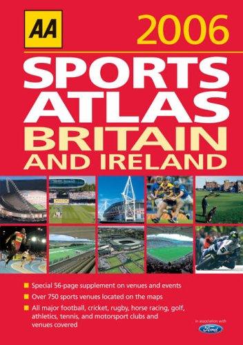 9780749546731: AA Sports Atlas Britain