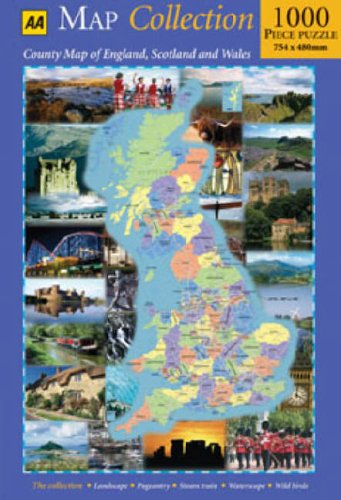 Map Of England Scotland.Map Collection County Map Of England Scotland And Wales Aa Jigsaw
