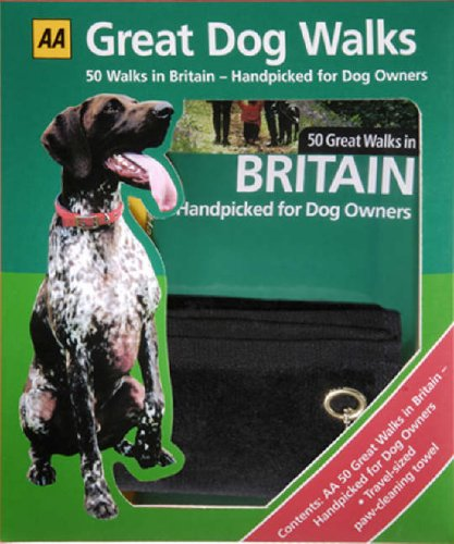 9780749547042: AA Great Dog Walks Kit: 50 Great Walks in Britain Handpicked for Dog Owners & Paw Towel (Aa Kit)