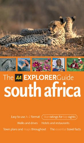9780749547554: AA Explorer South Africa (AA Explorer Guides)