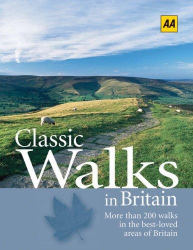 9780749548056: AA Classic Walks in Britain