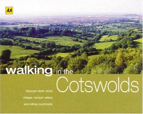9780749548476: AA Walking in the Cotswolds (Walking Books)