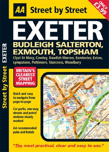 Exeter Street by Street: Cartography Department of The Automobile Association