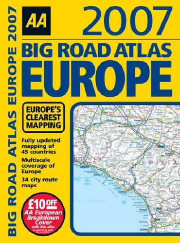9780749549046: AA Big Road Atlas Europe (AA Atlases)