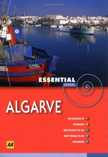9780749549411: AA Essential Spiral Algarve (AA Essential Spiral Guides)