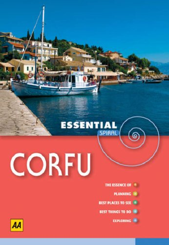 AA Essential Spiral Corfu (AA Essential Spiral: Publishing, AA